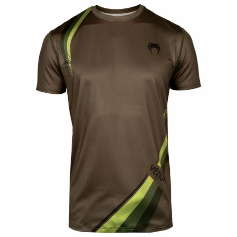 Venum Cutback 2.0 Dry Tech T-shirt - Khaki/Black