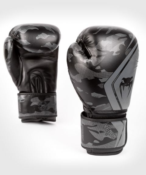 Venum Defender Contender 2.0 Boxing Gloves - Black/Black