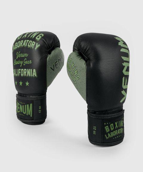 Боксерские перчатки Boxing Lab - Черный/Зеленый