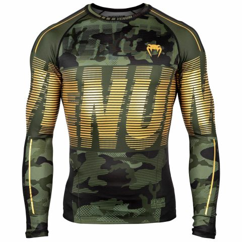 Venum Tactical Rashguard - Long Sleeves - forest_camo_black