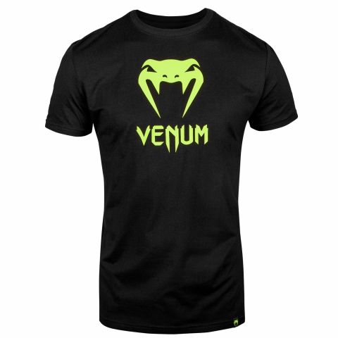 ФУТБОЛКА VENUM CLASSIC – ЧЕРНЫЙ - Black/Neo Yellow