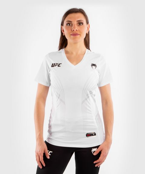 UFC Venum Authentic Fight Night Women's Walkout Jersey - White