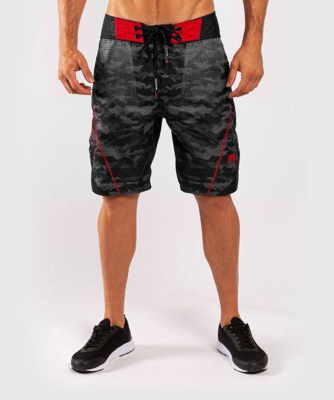 Пляжные шорты Venum Trooper - Черный/Красный