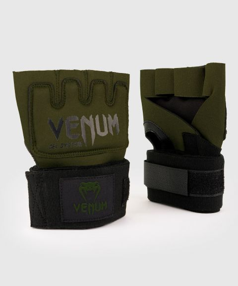 Venum Kontact Gel Glove Wraps - Khaki/Black