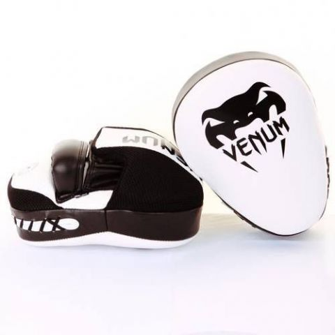 Venum Focus Mitts Cellular 2.0 - White/Black (Pair)
