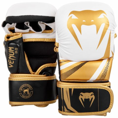 Sparring Gloves Venum Challenger 3.0 - White/Black/Gold