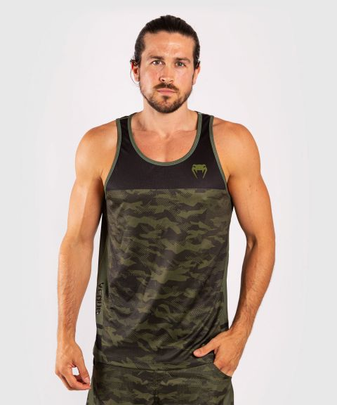 Venum Trooper Tank Top - Forest Camo/Black
