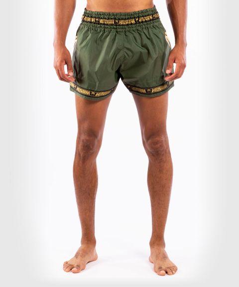 Venum Parachute Muay Thai Shorts - Khaki/Gold