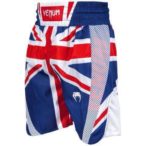 Шорты Venum Elite - Синий/Красно-белый