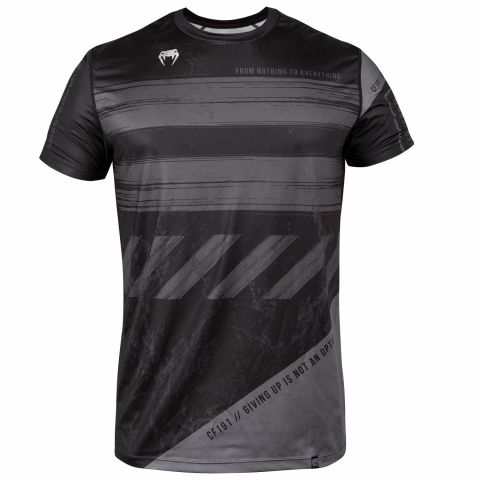 Venum AMRAP Dry Tech T-shirt - Black/Grey