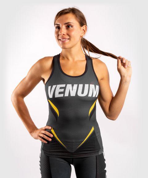 Venum ONE FC Impact Tank top - for women - Grey/Yellow