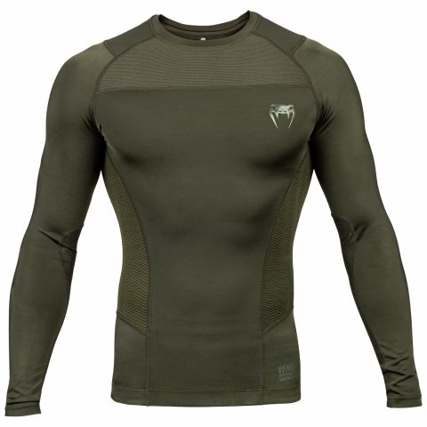 Venum G-Fit Rashguard - Long Sleeves - Khaki