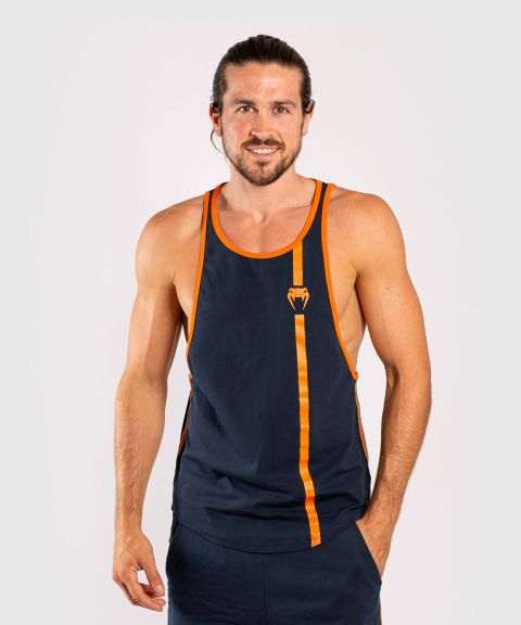 Venum Cutback 2.0 Tank Top - Navy Blue/Orange
