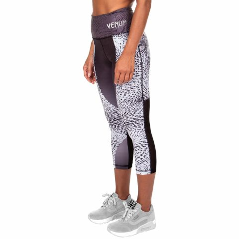 Venum Dune Cropped Leggings - Black/White