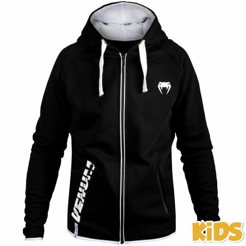 Venum Contender Kids Hoodie - Black/White - Exclusive