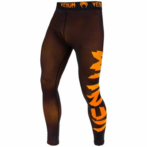 Venum Giant Compresssion Tights - Black/Neo Orange