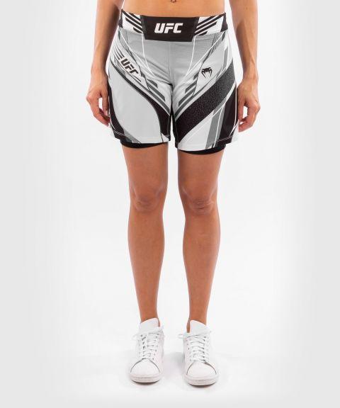UFC Venum Authentic Fight Night Women's Shorts - Long Fit - White