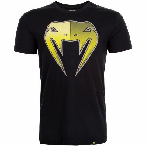 Venum Shadow T-shirt - Black/Yellow