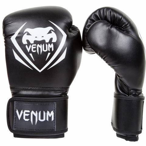 Venum Contender Boxing Gloves - Black