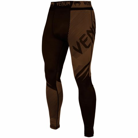 Venum NoGi 2.0 Compresssion Tights - Black/Brown