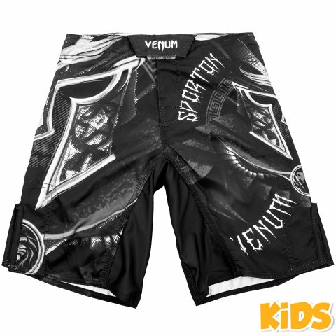Venum Gladiator Kids Fightshorts - Black/White