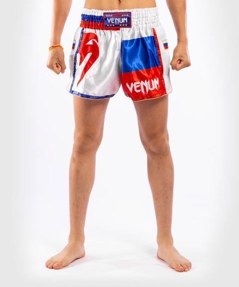 Venum MT Flags Muay Thai Shorts - Russian Flag