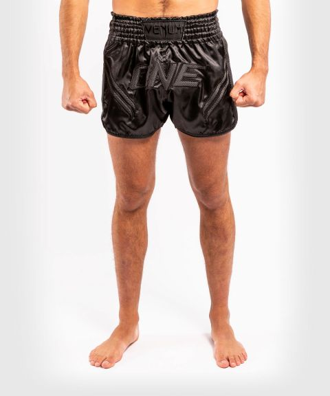 Venum ONE FC Impact Muay Thai Shorts - Black/Black