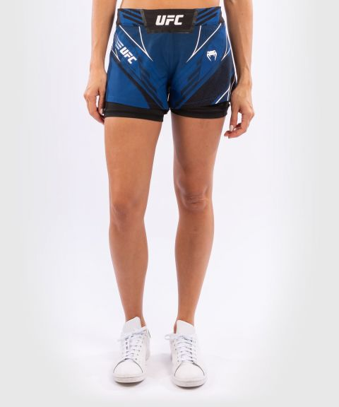 UFC Venum Authentic Fight Night Women's Shorts - Short Fit - Blue