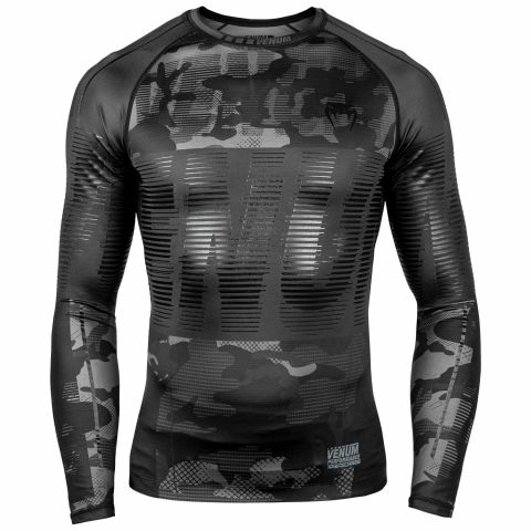 Venum Tactical Rashguard - Long Sleeves - Urban Camo/Black Black