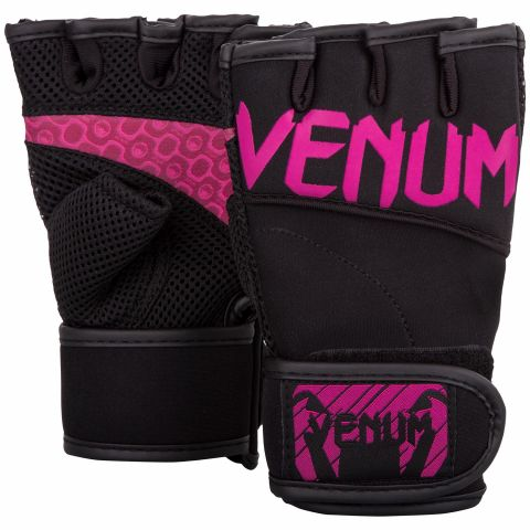 Venum Aero Body Fitness Gloves - Black/Neo Pink