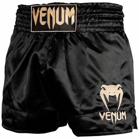 Шорты для тайского бокса Venum Classic - Black/Gold