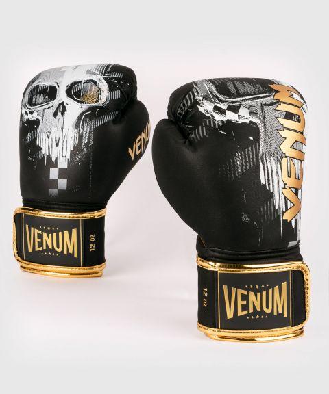 Боксерские перчатки Venum Skull - Черный