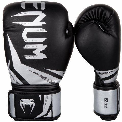 Боксерские перчатки Venum Challenger 3.0 - Черный/Серебристый