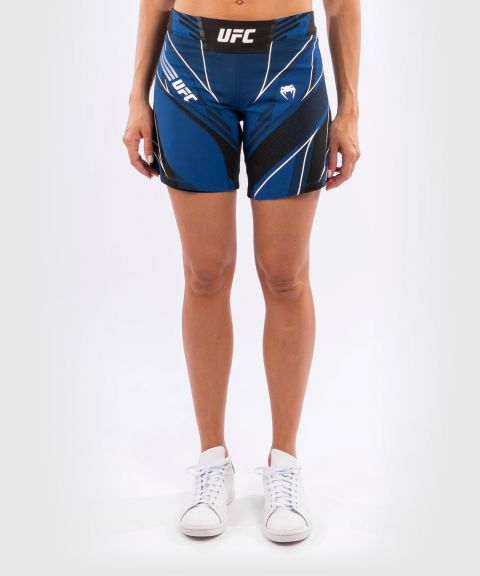 UFC Venum Authentic Fight Night Women's Shorts - Long Fit - Blue