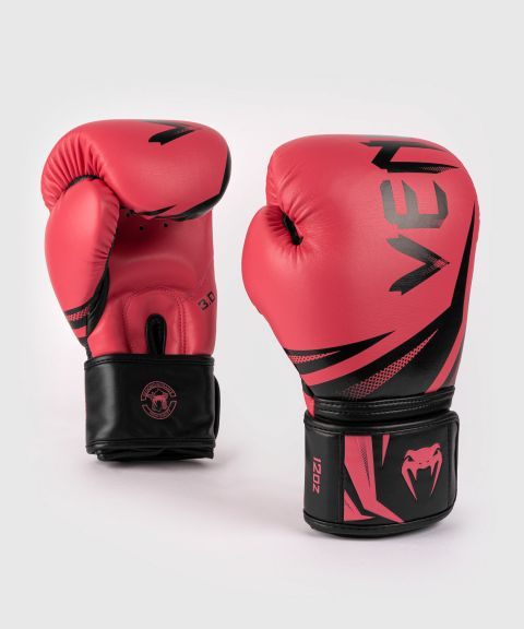 Venum Challenger 3.0 Boxing Gloves - Black/Coral