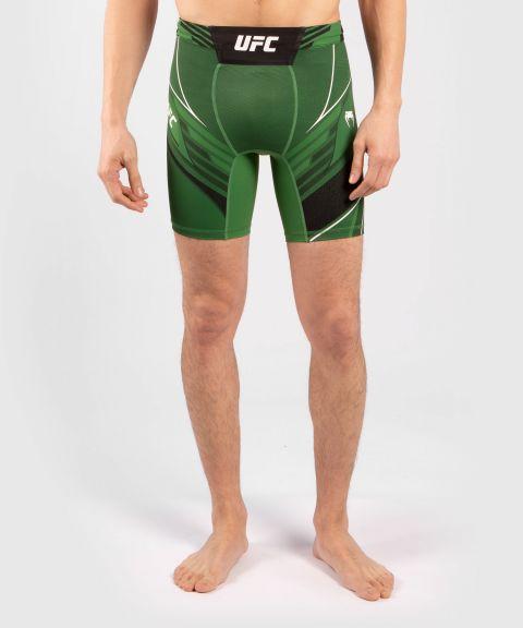 UFC Venum Authentic Fight Night Men's Vale Tudo Shorts - Short Fit - Green