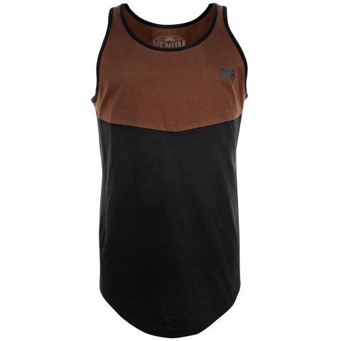 Venum Laser Classic Tank Top - Black/Brown - Exclusive
