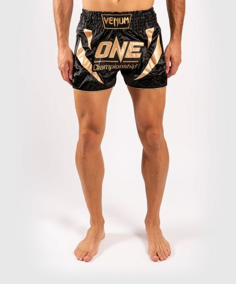 Venum x ONE FC Muay Thai Shorts - Black/Gold