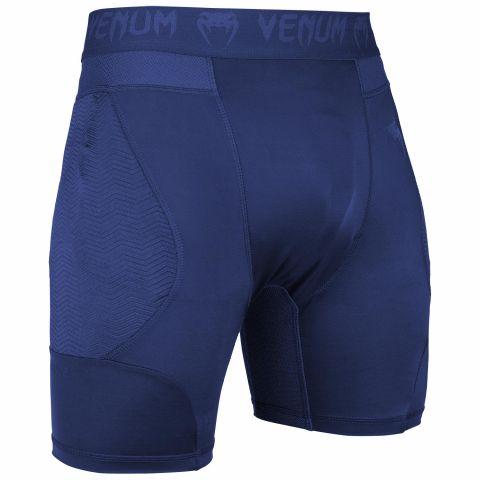 Компрессионные шорты Venum G-Fit - Темно-синий