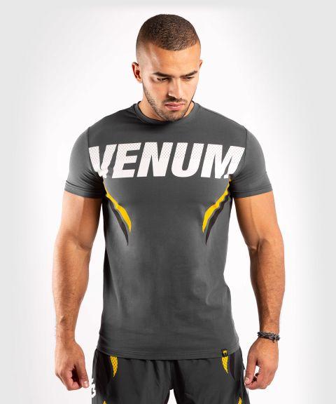 Venum ONE FC Impact T-shirt - Grey/Yellow