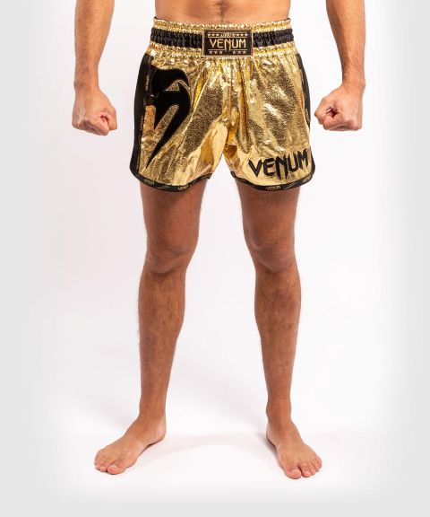 Venum Giant Foil Muay Thai Shorts - Gold/Black