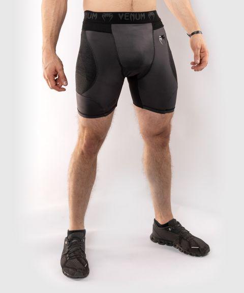 Компрессионные шорты Venum G-Fit - Grey/Black