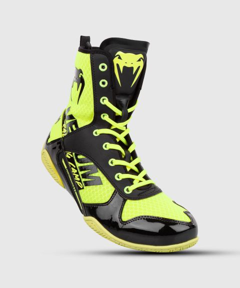 Боксерки Venum Elite VTC 2 Edition - Нео-желтый/Черный