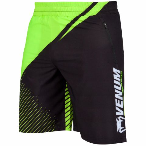 Venum Training Camp 2.0 Training Shorts - Black/Neo Yellow