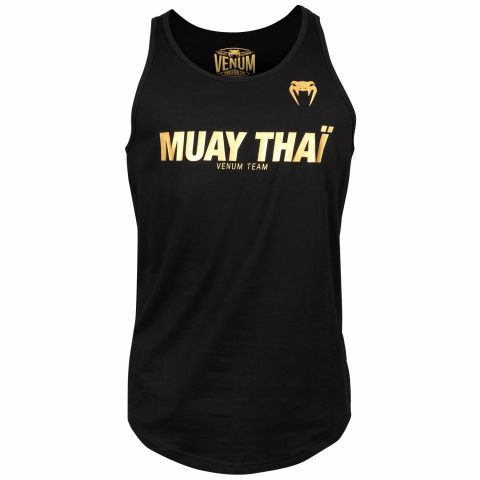 Майка Venum Muay Thai VT - Black/Gold
