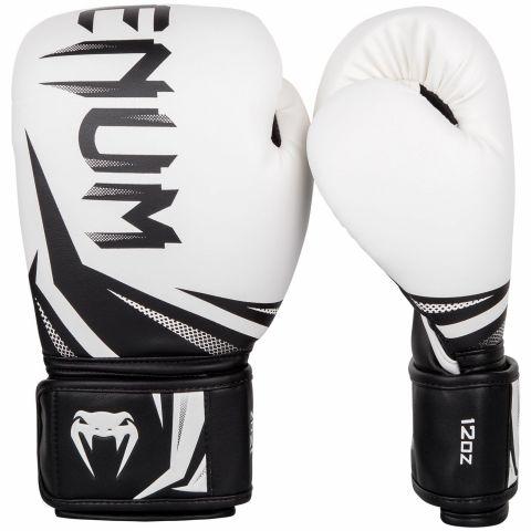 Боксерские перчатки Venum Challenger 3.0 - Белый/Черный