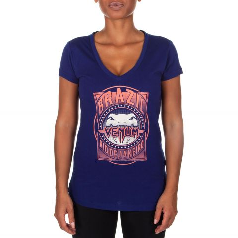 Venum Carioca Women T-Shirt  - Navy blue