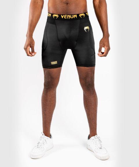 Компрессионные шорты Venum G-Fit - Black/Gold