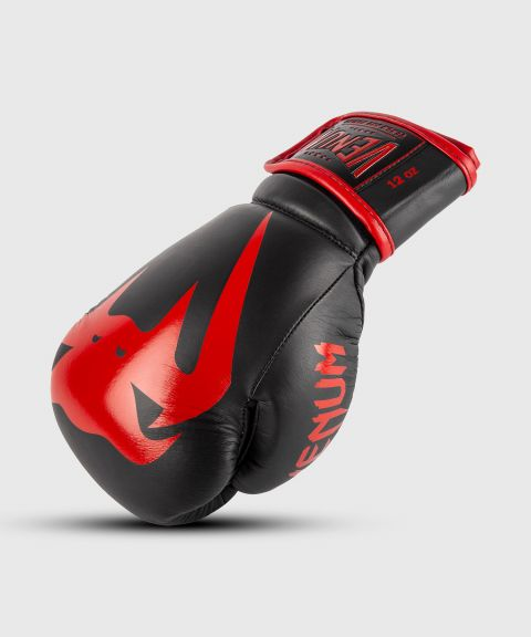 Venum Giant 2.0 Pro Boxing Gloves Velcro - Black/Red
