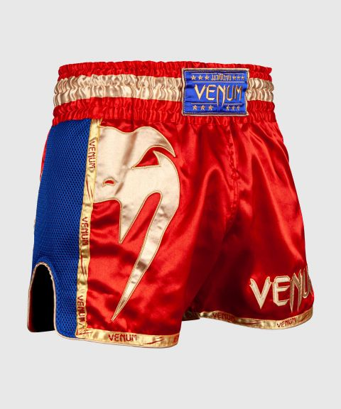 Venum Giant Muay Thai Shorts - Red/Gold